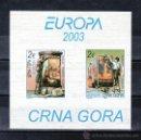 Sellos: SERBIA MONTENEGRO 2956/7 HOJA SIN CHARNELA, TEMA EUROPA, EL ARTE DEL CARTEL. Lote 26732442