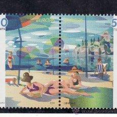 Sellos - macedonia 309/10 sin charnela, tema europa, las vacaciones - 24827730