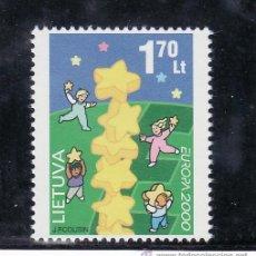 Sellos: LITUANIA 642 SIN CHARNELA, TEMA EUROPA, . Lote 24872589