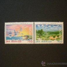 Sellos: SAN MARINO 1995 IVERT 1396/7 *** EUROPA - PAZ Y LIBERTAD. Lote 25418485