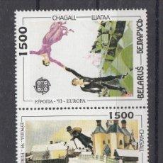 Sellos: BIELORRUSIA 56/7 SIN CHARNELA, TEMA EUROPA, ARTE CONTEMPORANEO . Lote 26593135
