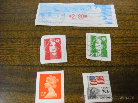 Sellos: LOTE 36 SELLOS USADOS DE VARIOS PAISES - VER FOTOS - - Foto 3 - 29308006