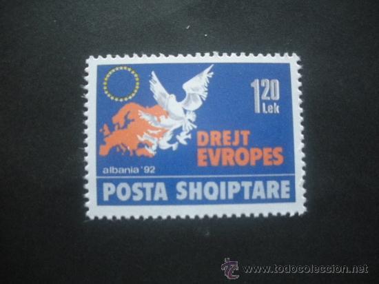 Briefmarken Albanien Posta Shqiptare 1992 Albanien