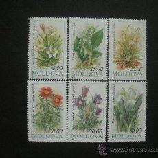 Sellos: MOLDAVIA 1993 IVERT 71/6 *** FLORES DIVERSAS - FLORA. Lote 30307405