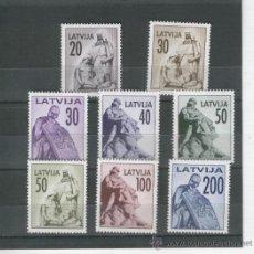 Sellos: LITUANIA. SELLOS MODERNOS. LATVIJA. SERIE COMPLETA SIN USAR. OFERTA. . Lote 33465070