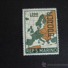 Sellos: SAN MARINO Nº YVERT 697*** AÑO 1967. TEMA EUROPA. Lote 34705991