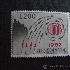 Sellos: SAN MARINO Nº YVERT 572*** AÑO 1962- TEMA EUROPA.. Lote 35270082