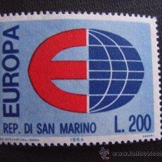 Sellos: SAN MARINO Nº YVERT 639*** AÑO 1964. TEMA EUROPA. Lote 35270175
