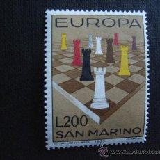 Sellos: SAN MARINO Nº YVERT 654*** AÑO 1965. TEMA EUROPA. Lote 35270199