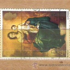 Sellos: SELLOS - LOTE 1 SELLO USADO - INGLATERRA - CUADRO DE MURILLO. Lote 35351591