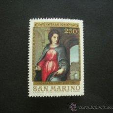 Sellos: SAN MARINO 1980 IVERT 1022 *** NAVIDAD - 450º ANIVERSARIO PINTOR ANDREA DEL SARTO. Lote 37240234