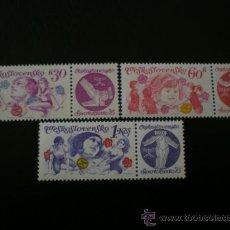 Sellos: CHECOSLOVAQUIA 1975 IVERT 2102/4 *** SPARTAKIADAS NACIONALES - DEPORTES . Lote 38359681
