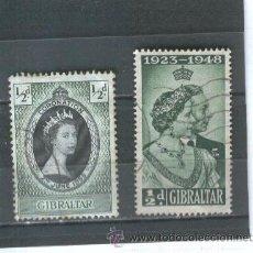 Sellos: SELLOS GIBRALTAR 1953. Lote 39553069