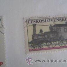 Sellos: LOTE DE 2 SELLOS DE CHECOSLOVAQUIA AÑOS 70 . Lote 39860418