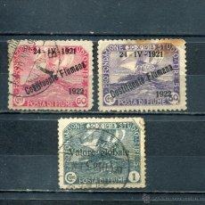 Sellos: SELLOS ANTIGUOS FIUME PAOSES EXOTICOS AÑO 1922 SOBRECARGA SOBRETASA. Lote 40665098