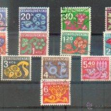 Sellos: CHECOSLOVAQUIA .- TASAS 103/113 1973. Lote 40683471