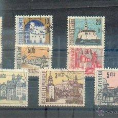 Sellos: CHECOSLOVAQUIA CIUDADES 1965/66. Lote 40683494