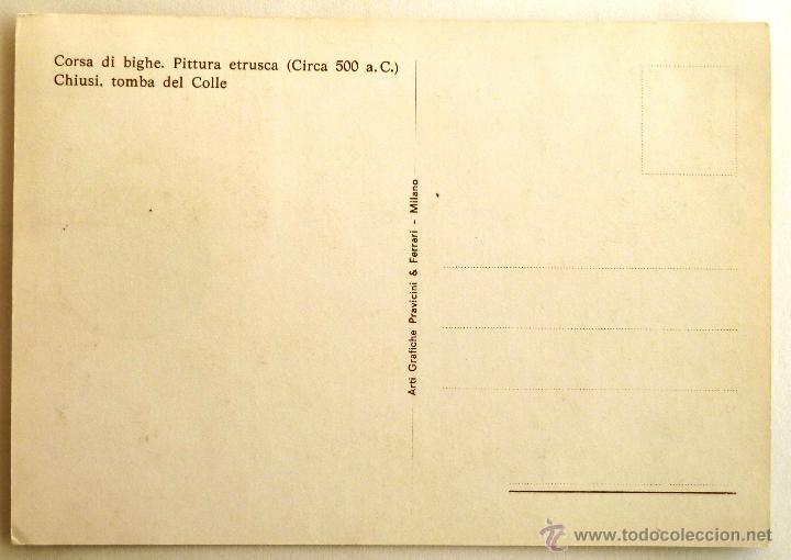 Sellos: TARJETA MAXIMA DE SAN MARINO. PINTURA ETRUSCO. SAN MARINO 1975. - Foto 2 - 41126016