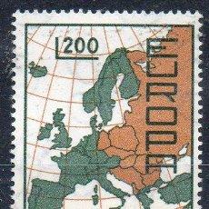 Sellos: SAN MARINO AÑO 1967 YV 697*** EUROPA - MAPAS. Lote 43585717