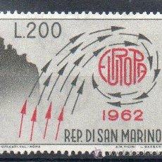 Sellos: SAN MARINO AÑO 1962 YV 572*** EUROPA. Lote 43585809
