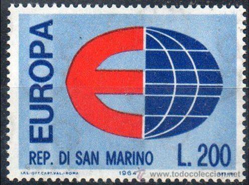 SAN MARINO AÑO 1964 YV 639*** EUROPA (Sellos - Extranjero - Europa - Otros paises)