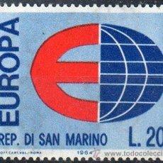Sellos: SAN MARINO AÑO 1964 YV 639*** EUROPA. Lote 43585896
