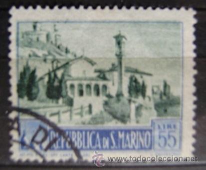 SAN MARINO - IVERT 331A USADO ( TURISMO ) (Sellos - Extranjero - Europa - Otros paises)