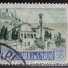 Sellos: SAN MARINO - IVERT 331A USADO ( TURISMO ). Lote 43847979