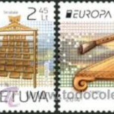 Sellos: LITUANIA 2014. EUROPA. INSTRUMENTOS MUSICALES. Lote 43894978
