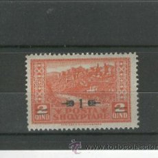Sellos: ALBANIA SELLOS ANTIGUOS PAISES RAROS NUM 135 AÑO 1924 SOBRECARGA NUEVO CON FIJASELLO OFERTA. Lote 44669379