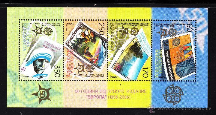 MACEDONIA HB 13** - AÑO 2005 - 50º ANIVERSARIO DE LAS EMISIONES DE SELLOS EUROPA (Sellos - Extranjero - Europa - Otros paises)