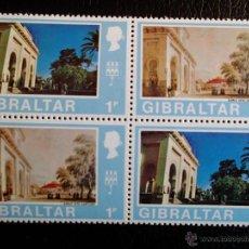Sellos: GIBRALTAR. 241/42 VISTAS DE GIBRALTAR DEL MISMO LUGAR EN EL S. XIX Y XX. DOS SERIES ALTERNADAS**. 19. Lote 47044917