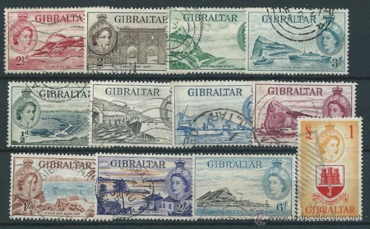 GIBRALTAR YVERT Nº 130/143 (FALTA 141-142) (Sellos - Extranjero - Europa - Otros paises)