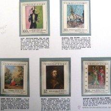 Sellos: SELLOS CHECOSLOVAQUIA 1967. PINTORES CHECOS. PINTURA. NUEVOS.. Lote 47737665
