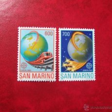Sellos: SAN MARINO 1988, YVERT 1179-80, MNH-SC. Lote 47914831