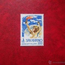 Sellos: SAN MARINO 1978, YVERT 967, MNH-SC. Lote 48444223