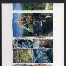 Sellos: VINOS DE AZORES (PORTUGAL). AÑO 2006. Lote 48764713