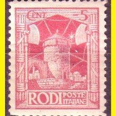 Sellos: RODAS 1929 IVERT Nº 15 *. Lote 48913082