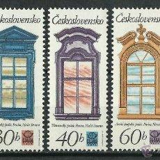 Timbres: CHECOSLOVAQUIA - 1977 - SCOTT 2103/2107** MNH. Lote 49270087