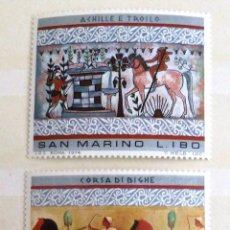 Sellos: SELLOS SAN MARINO 1975. NUEVOS.. Lote 50572656