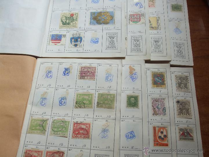 Sellos: .checoslovaquia 8 libretas aproximadamente 1020 sellos clasificados, diversas calidades + fotos - Foto 2 - 50673704