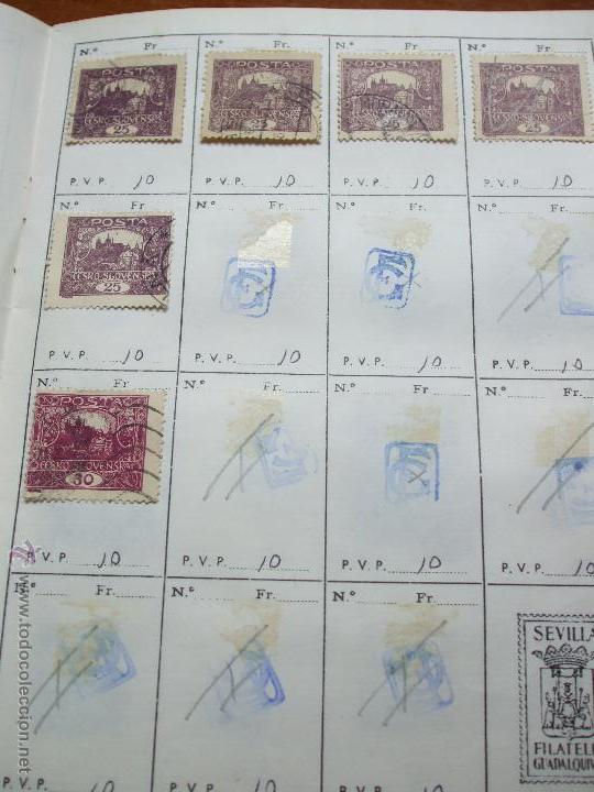 Sellos: .checoslovaquia 8 libretas aproximadamente 1020 sellos clasificados, diversas calidades + fotos - Foto 9 - 50673704