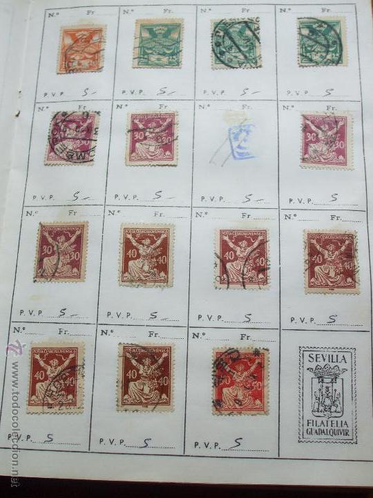 Sellos: .checoslovaquia 8 libretas aproximadamente 1020 sellos clasificados, diversas calidades + fotos - Foto 12 - 50673704