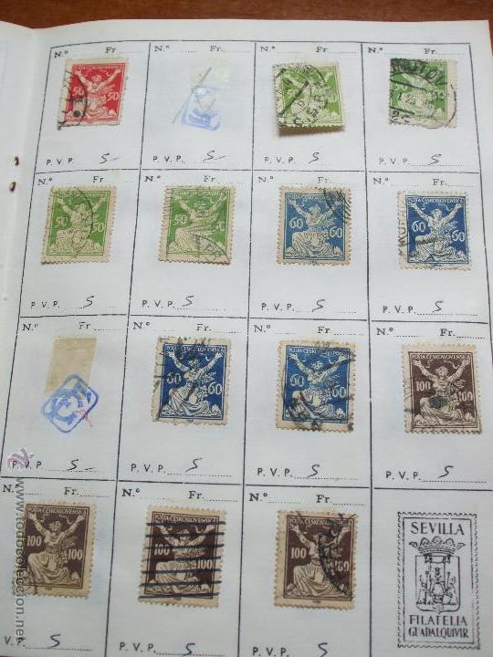 Sellos: .checoslovaquia 8 libretas aproximadamente 1020 sellos clasificados, diversas calidades + fotos - Foto 13 - 50673704
