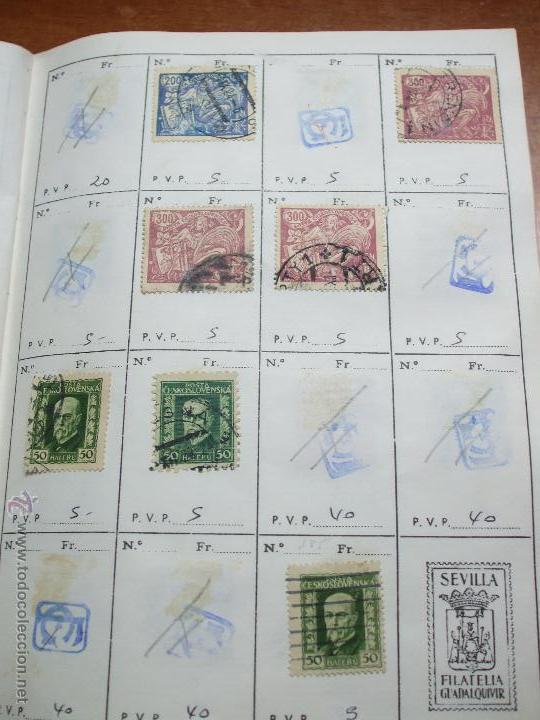 Sellos: .checoslovaquia 8 libretas aproximadamente 1020 sellos clasificados, diversas calidades + fotos - Foto 15 - 50673704