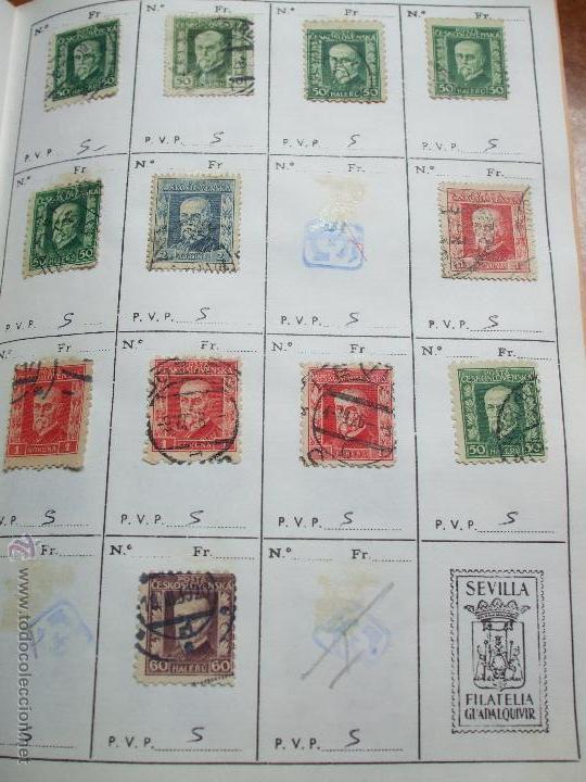 Sellos: .checoslovaquia 8 libretas aproximadamente 1020 sellos clasificados, diversas calidades + fotos - Foto 16 - 50673704