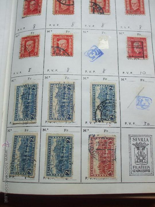 Sellos: .checoslovaquia 8 libretas aproximadamente 1020 sellos clasificados, diversas calidades + fotos - Foto 17 - 50673704