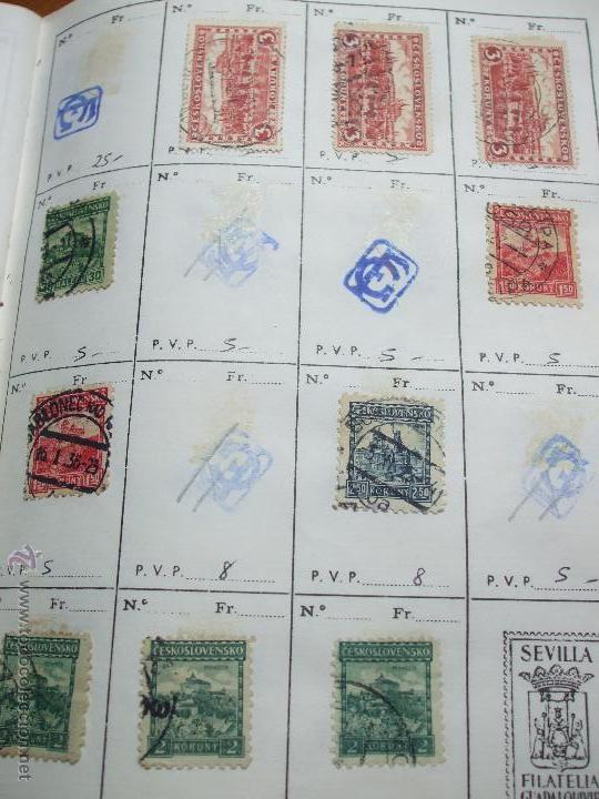 Sellos: .checoslovaquia 8 libretas aproximadamente 1020 sellos clasificados, diversas calidades + fotos - Foto 18 - 50673704