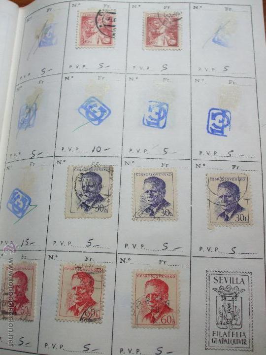 Sellos: .checoslovaquia 8 libretas aproximadamente 1020 sellos clasificados, diversas calidades + fotos - Foto 36 - 50673704