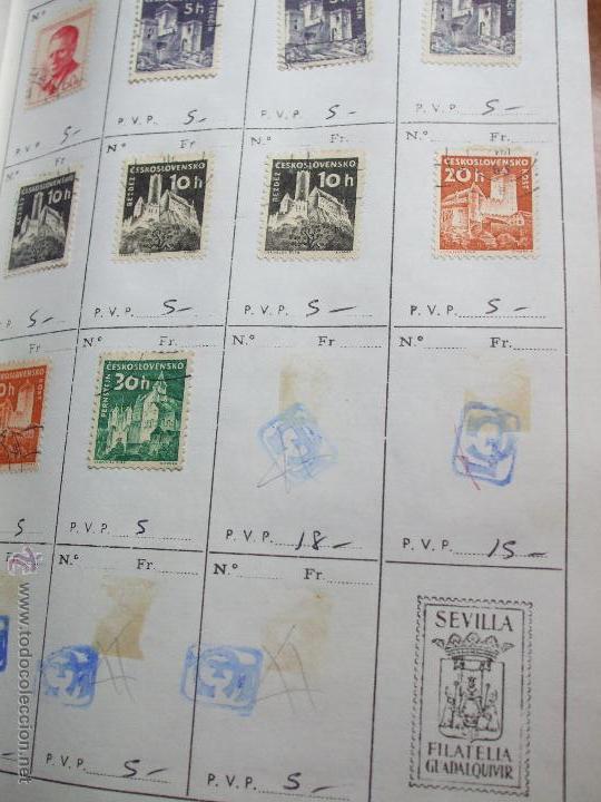 Sellos: .checoslovaquia 8 libretas aproximadamente 1020 sellos clasificados, diversas calidades + fotos - Foto 37 - 50673704